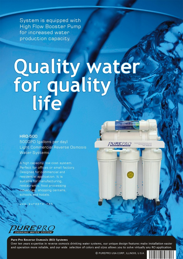 Purepro 174 Hro 500 Reverse Osmosis Water Filter Systems