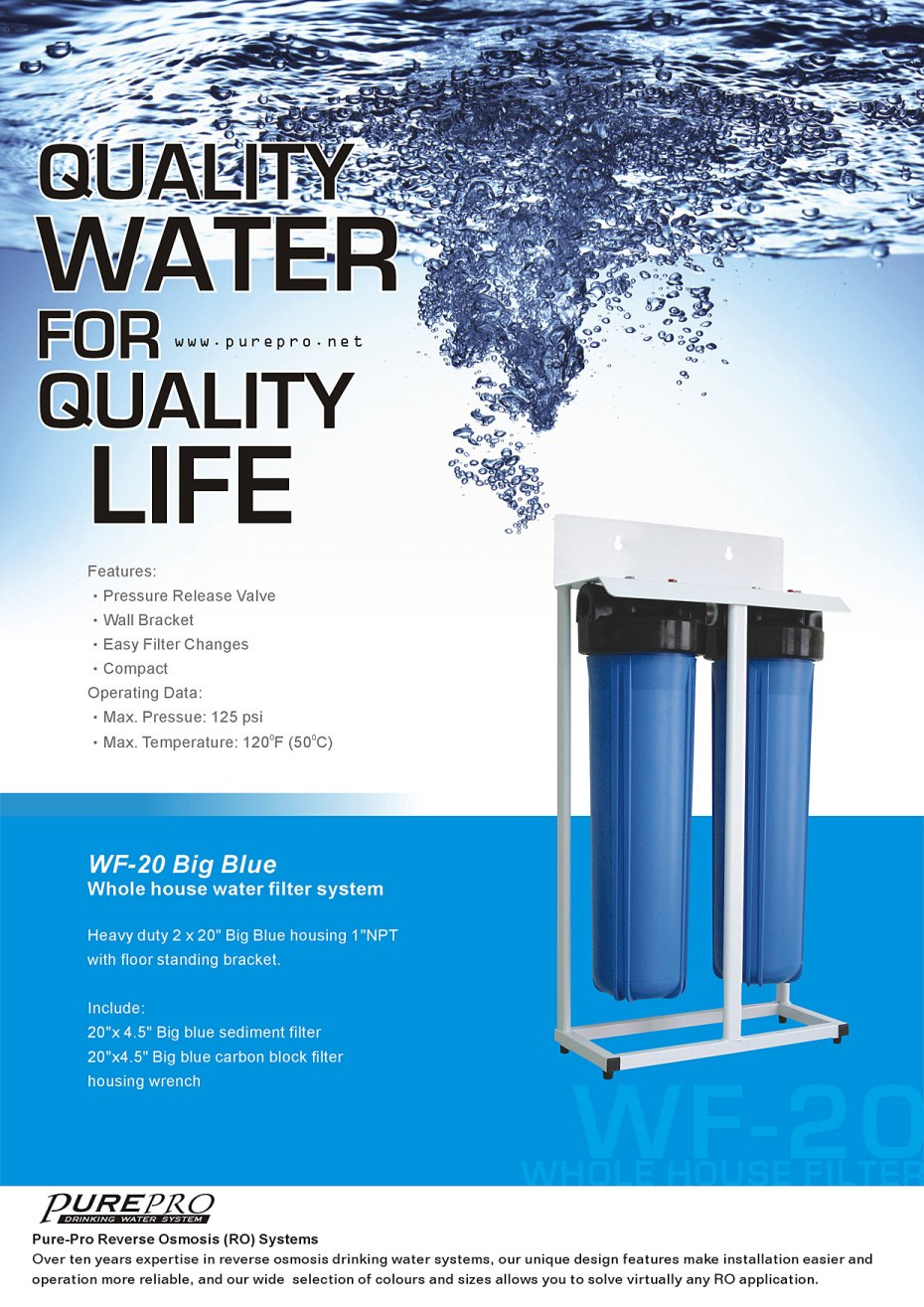 Purepro 174 Reverse Osmosis Water Filter Systems Taiwan