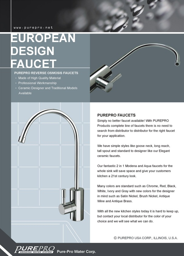 Purepro 174 European Design Faucet Best Quality