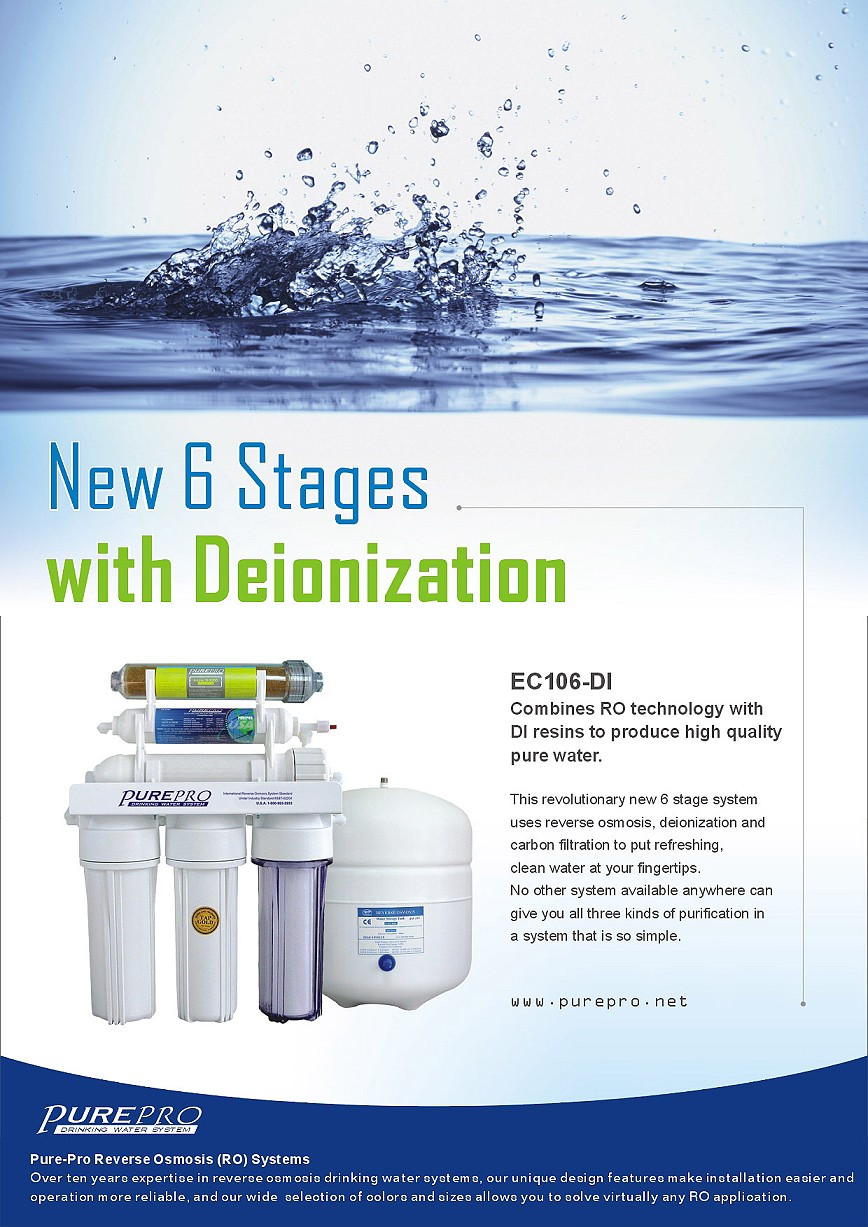 Purepro 174 Reverse Osmosis Water Filter Systems