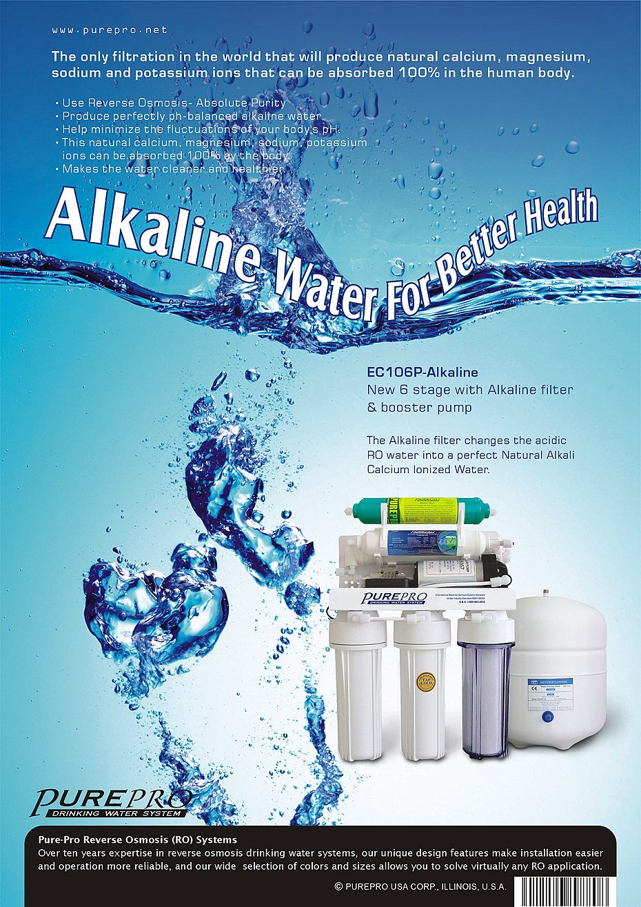 Purepro Alkaline Reverse Osmosis Water Filter Systems
