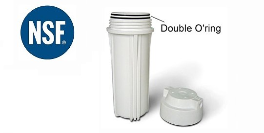 Purepro 174 Double Ring Water Filter Housings